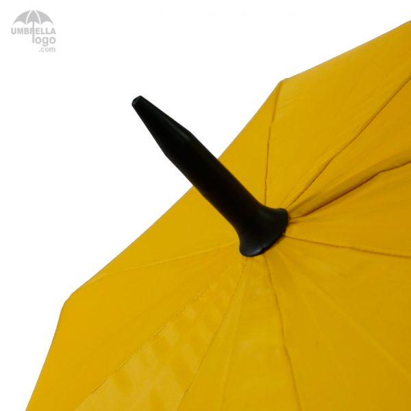 ร่มตอนเดียว28นิ้ว-สีเหลือง