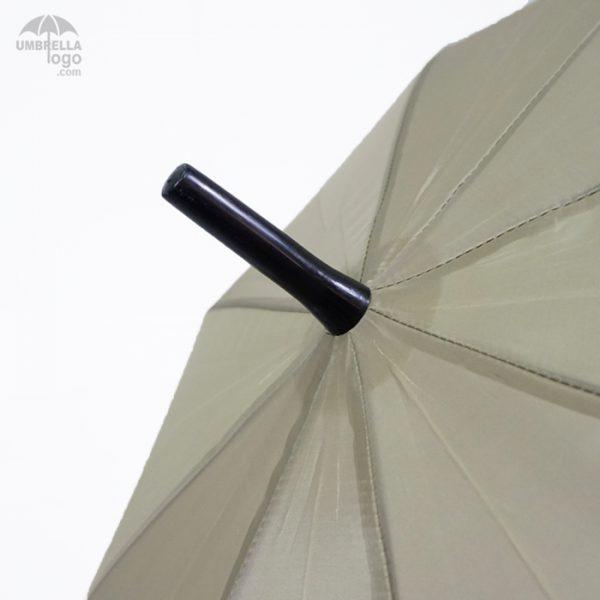 ปลายร่มสีดำ