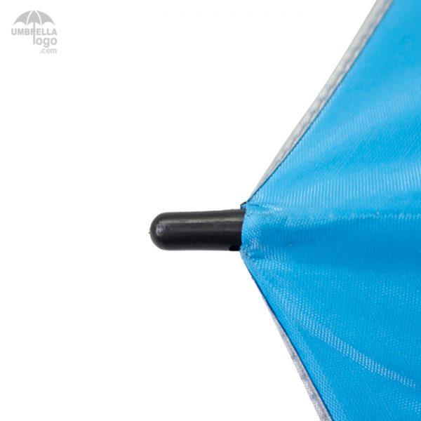 ร่มตอนเดียวสีฟ้า