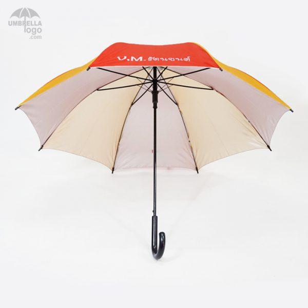 โครงร่มสีสลับ