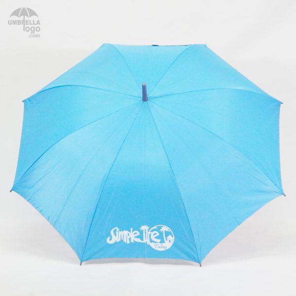 ร่มsimplelifeสีฟ้า