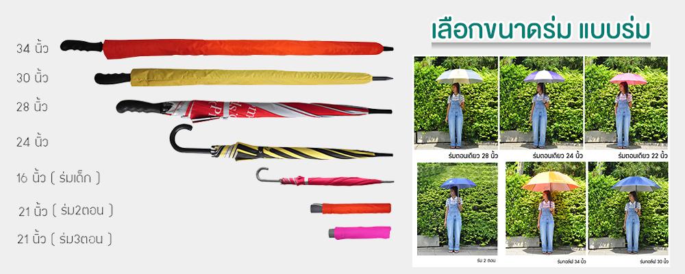 วิธีสั่งผลิตร่ม
