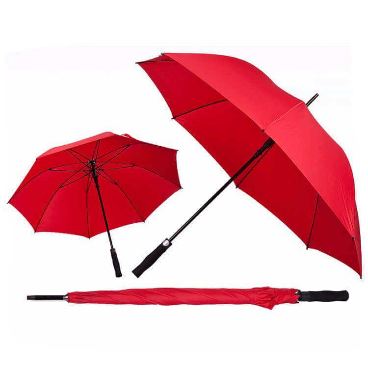 ตัวอย่างร่มสีแดง